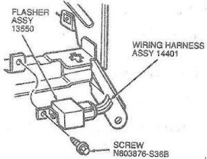 Ford       Taurus     1985  1999   fuse box    diagram     Auto Genius