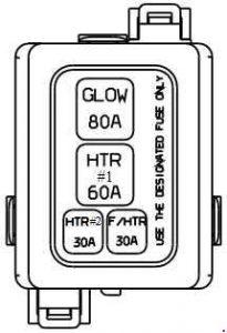 Hyundai Accent (IC) (1999 - 2005) - fuse box diagram ...