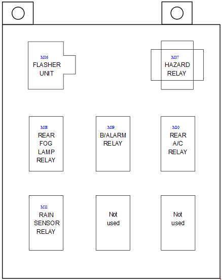 hyundai trajet 2004 2008 fuse box diagram auto genius. Black Bedroom Furniture Sets. Home Design Ideas