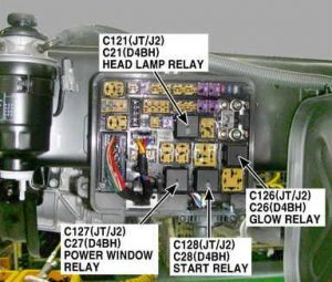 KIA K2500 - fuse box diagram
