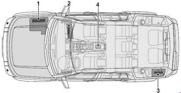 [DIAGRAM_4PO]  Land Rover Discover (2004 - 2009) – fuse box diagram - Auto Genius | 04 Range Rover Fuse Box |  | Auto Genius