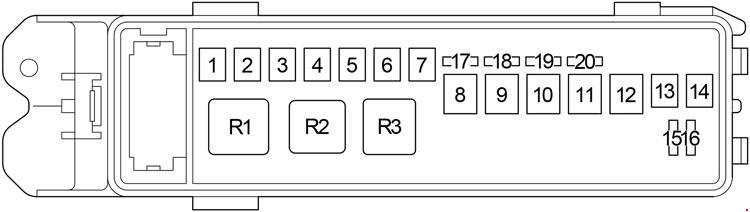 lexus ls 430 (2000 - 2006) - fuse box diagram - auto genius  auto genius