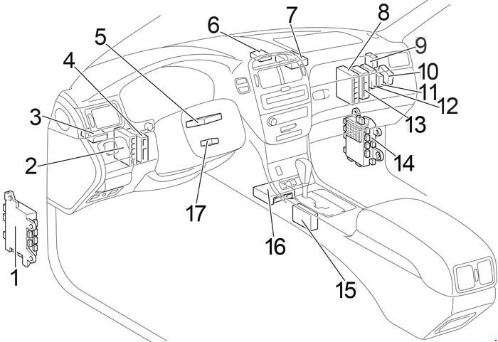 Lexus Ls430 Wiring Diagrams Lexus Circuit Diagrams
