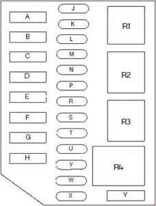 94 town car fuse box lincoln town car (1992 - 1997) - fuse box diagram - auto ... #7