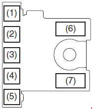 Maruti Suzuki Vitara Berezza - fuse box diagram - engine compartment