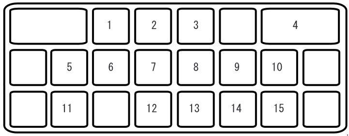 mazda cx-7 (2006 - 2009) - fuse box diagram - auto genius mazda cx 7 fuse box diagram  auto genius