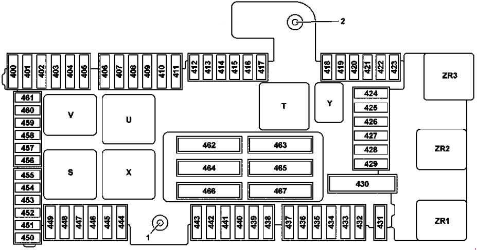 mercedes benz a class fuse box diagram mercede-benz c-class w205 (2014 - 2018)- fuse box diagram ...