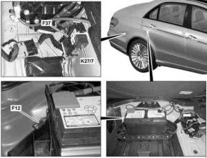 Mercedes Benz E Class W212 2009 2016 Fuse Box