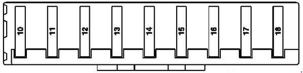 mercedes benz ml w164 2005 2011 fuse box diagram. Black Bedroom Furniture Sets. Home Design Ideas
