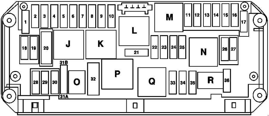 Mercedes-Benz SLK (R172; 2010 - present) - fuse box diagram - Auto ...