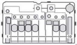 Mercedes-Benz Sprinter (w906) (2006 - 2017) - fuse box diagram
