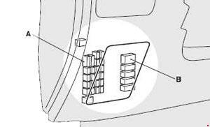 Mitsubishi ASX (2010- present) - fuse box diagram - Auto ...