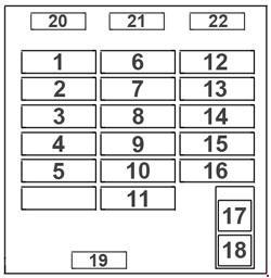 mitsubishi delica fuse box english mitsubishi delica l400 - fuse box diagram - auto genius #7