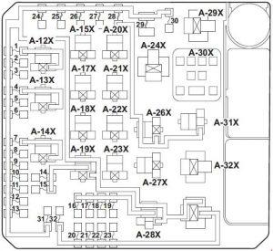 mitsubishi diamante fuse box diagram mitsubishi lancer (2007 - 2017) – fuse box diagram - auto ... mitsubishi grandis fuse box diagram