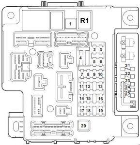 mitsubishi fuse box diagram mitsubishi lancer (2007 - 2017) – fuse box diagram - auto ... mitsubishi fuse box diagram glow #3