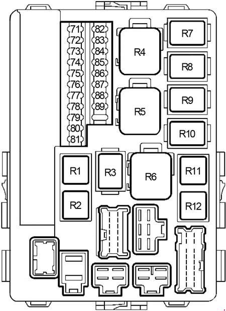 nissan fuse diagram nissan fuse box layout