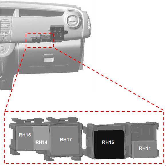 opel vivaro 2014 2018 fuse box diagram auto genius. Black Bedroom Furniture Sets. Home Design Ideas