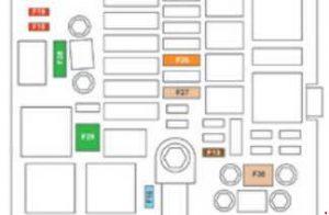 peugeot 308 2014 2018 fuse box diagram auto genius. Black Bedroom Furniture Sets. Home Design Ideas
