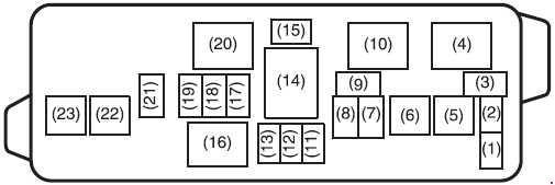 Suzuki Alto 800, K10 (2012 - present) - fuse box diagram ... on silverado fuse box, uplander fuse box, nova fuse box, g20 fuse box, hhr fuse box, impala fuse box, monte carlo fuse box, equinox fuse box, cobalt fuse box, trailblazer fuse box, chevelle fuse box, malibu fuse box, tahoe fuse box, f10 fuse box, suburban fuse box, venture fuse box, ssr fuse box,