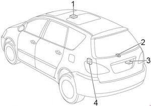 toyota avensis verso 2000 2006 fuse box diagram auto genius 2006 BMW 325I Fuse Diagram for Radio toyota avensis verso fuse box diagram location
