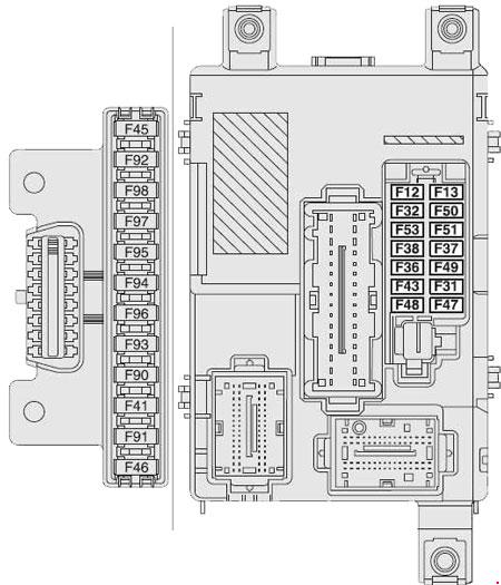 vauxhall combo fuse box location vauxhall combo fuse box diagram