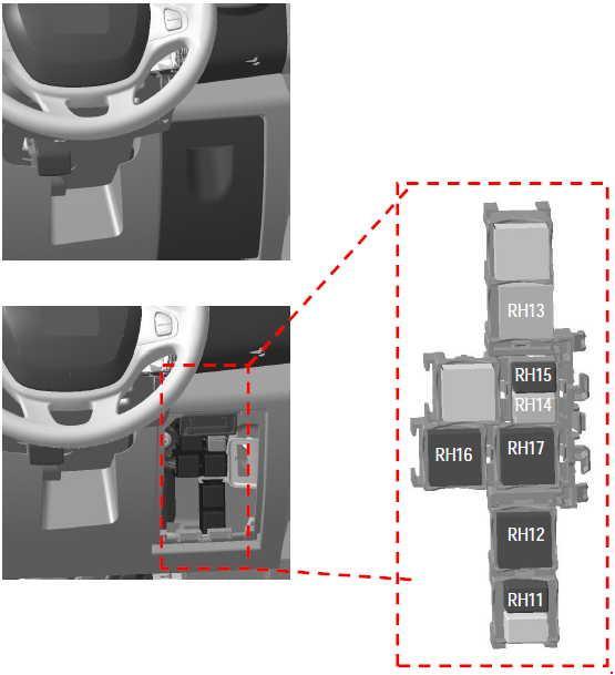 Fuse Box Layout Vauxhall Vivaro : Vauxhall vivaro  fuse box diagram auto genius
