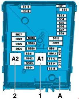 volkswagen fox fuse box layout volkswagen caddy (2010 - 2014) – fuse box diagram - auto ... volkswagen caddy fuse box layout