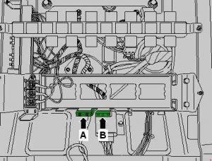 Volkswagen Crafter - fuse box diagram - Fuse 1 -S131-