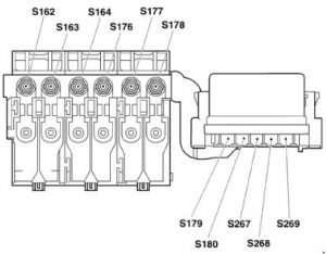 volkswagen fox  2004 - 2009  - fuse box diagram