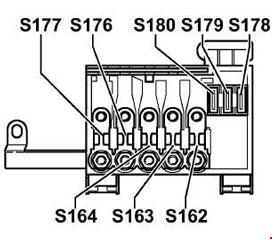[SCHEMATICS_4LK]  Volkswagen Golf (1999 - 2006) - fuse box diagram - Auto Genius | 2000 Vw Golf Fuse Box Diagram |  | Auto Genius