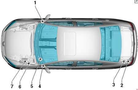 2012 vw passat engine fuse box diagram
