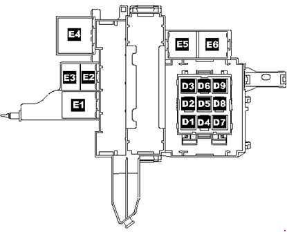 Volkswagen Toured  2005  2010   fuse box    diagram     Auto