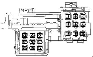 volkswagen toured (2005 - 2010) - fuse box diagram - auto ... volkswagen fuse box recall 2005 volkswagen fuse box #3