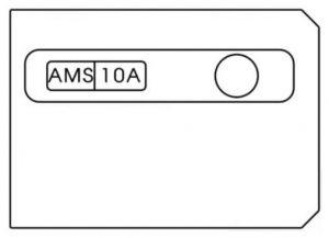 Hyundai Elantra GT - fuse box diagram - battery terminal cover