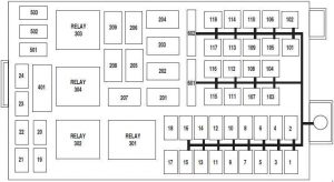 Mercury Grand Marquis (2003 - 2011) - fuse box diagram ...