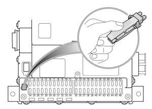 MG 6 - fuse box diagram - passenger compartment