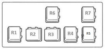 nissan almera  2000 - 2006  - fuse box diagram