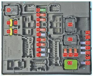 Nissan Juke Fuse Box Diagram Engine Compartment Box X