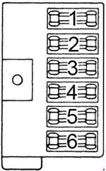 Dodge B100 1971 1978 fuse box diagram Auto Genius