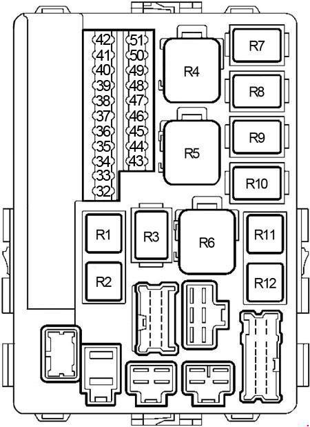 Nissan Altima 2001 2006 Fuse Box Diagram Auto Genius