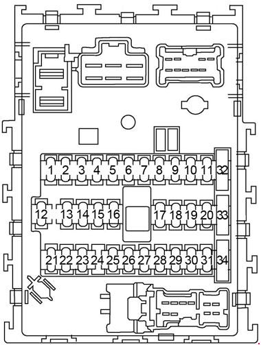 nissan sentra (2000 - 2006) - fuse box diagram - auto genius 2006 nissan sentra fuse box location 2006 nissan sentra fuse box radio parts