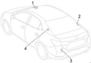 Toyota Corolla (2013 - 2018) - fuse box diagram - Auto Genius