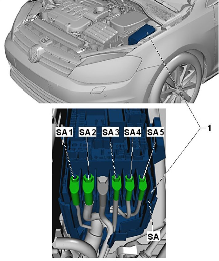 2012 Vw Golf Fuse Box Diagram