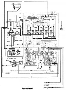 Volvo 940 1993 Fuse Box Diagram Auto Genius