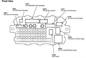 Acura Integra (1998 - 1999) - fuse box diagram - Auto Genius