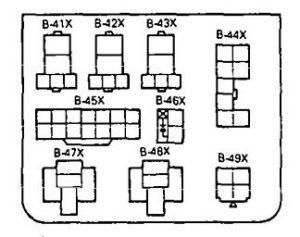 Eagle Summit (1994 - 1996) - fuse box diagram - Auto Genius