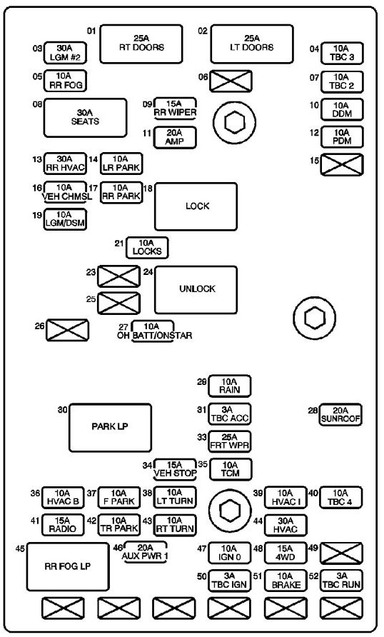 service manual  2007 isuzu ascender removal diagram