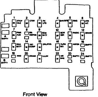 1996 isuzu rodeo fuse box diagram isuzu hombre  1996  fuse box diagram auto genius  isuzu hombre  1996  fuse box diagram