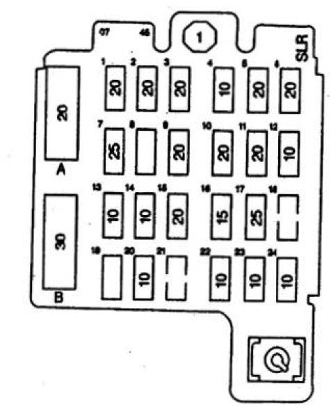 Isuzu Hombre (1997) - fuse box diagram - Auto GeniusAuto Genius