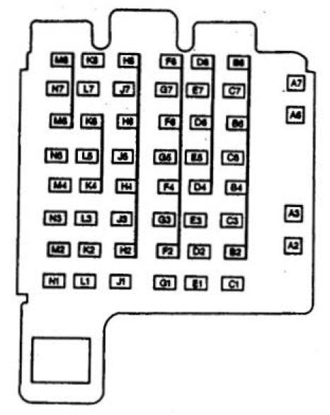 isuzu hombre (1997) - fuse box diagram - auto genius  auto genius